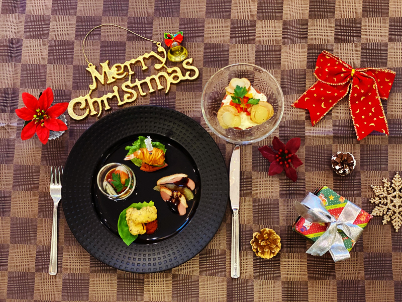 クリスマスディナー02