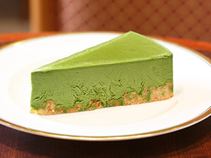 西尾抹茶のチーズケーキ