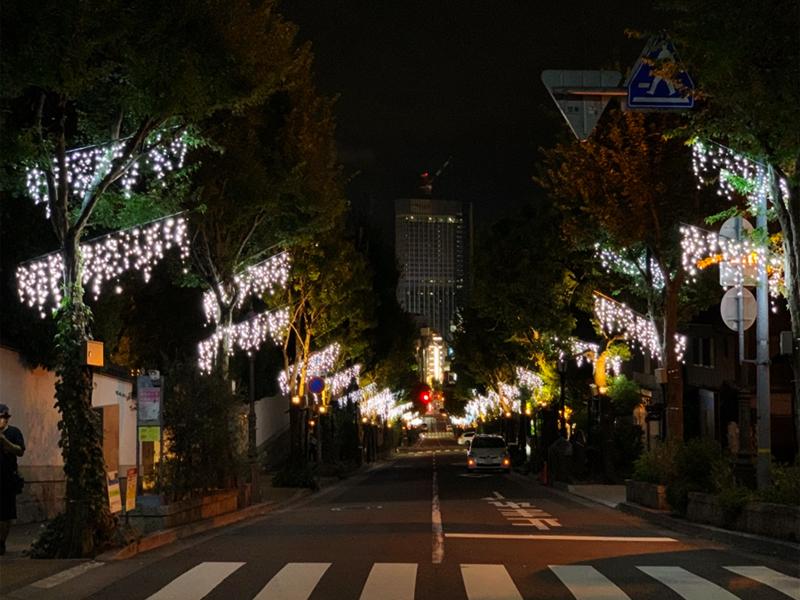 北野坂イルミネーション画像