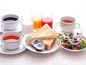 朝食 コンチネンタル(洋食)