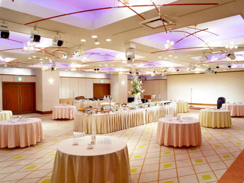 ホテルクラウンパレス小倉の宴会場「香梅」正餐