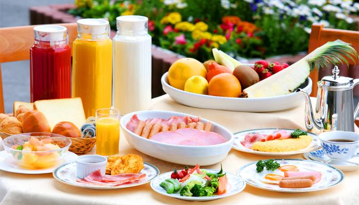 ホテルクラウンパレス小倉の朝食バイキングイメージ