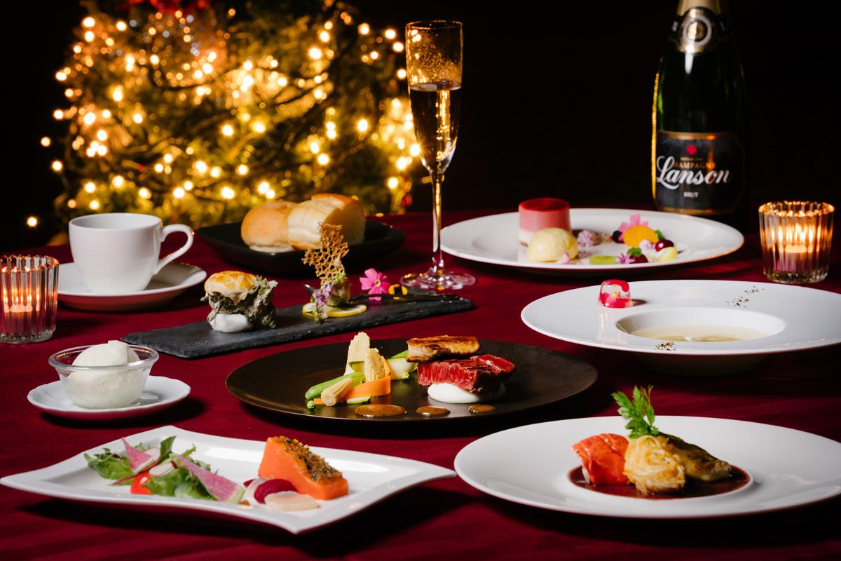 ホテルクラウンパレス小倉のクリスマスディナー2020画像
