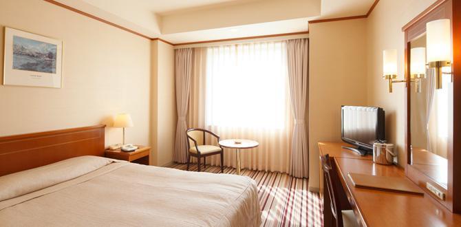 ホテルクラウンパレス小倉の客室「ダブルルーム」