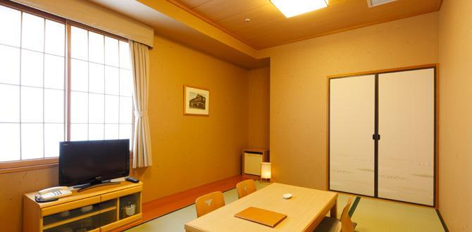 ホテルクラウンパレス小倉の客室「和室」