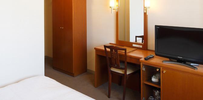 ホテルクラウンパレス小倉の客室「シングルルーム」