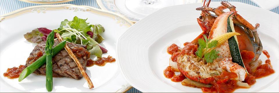 ホテルクラウンパレス小倉のレストランラヴァンドの料理イメージ
