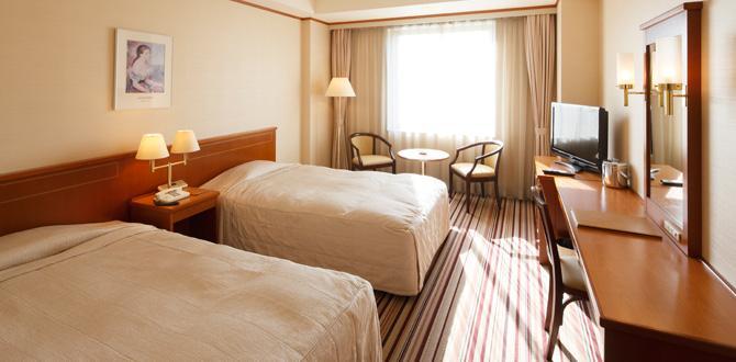 ホテルクラウンパレス小倉の客室「ツインルーム」
