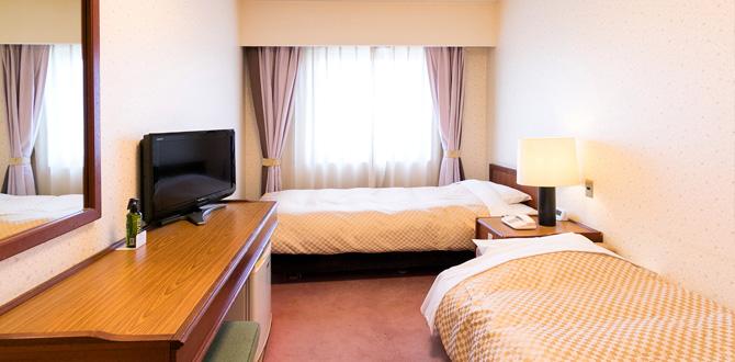 八代グランドホテルの客室「エコノミーツインルーム」