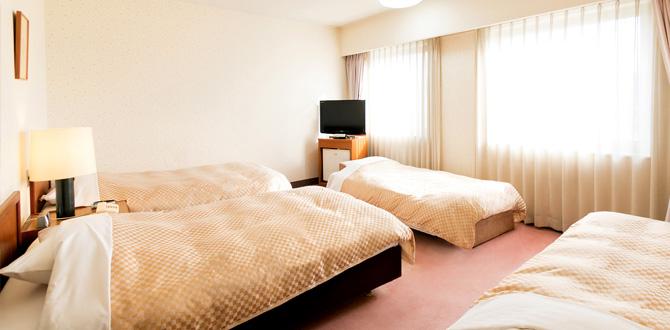 八代グランドホテルの客室「ファミリールーム」