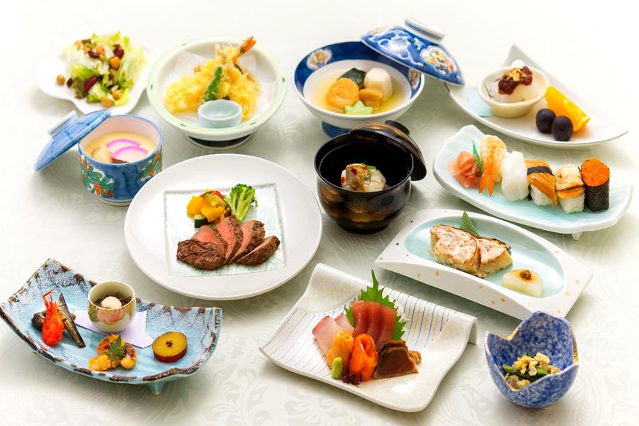 ご法要プランの料理「和会席6050円」