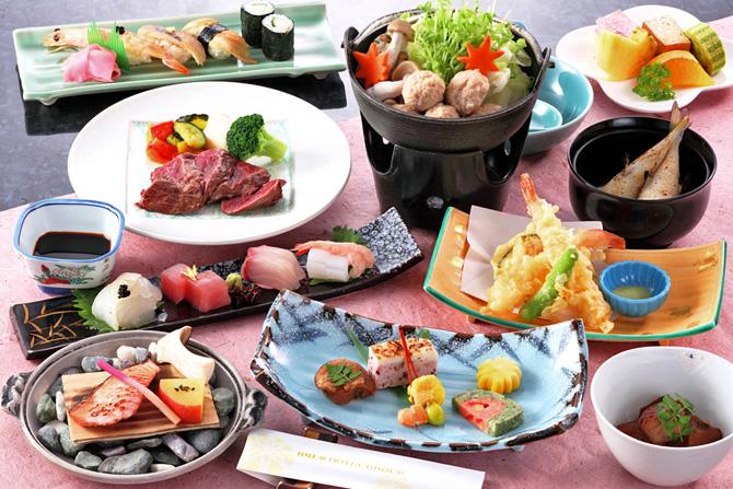 レストラン希望ヶ岡の冬の特別会席「雅会席」