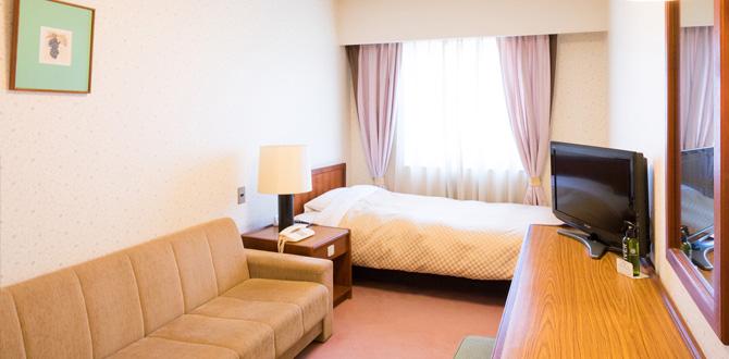 八代グランドホテルの客室「ソファ付シングルルーム」