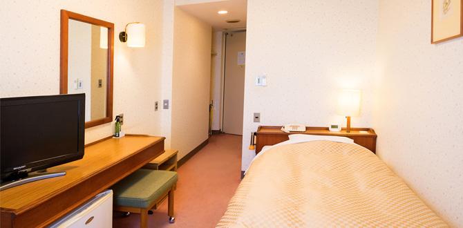 八代グランドホテルの客室「シングルルーム」