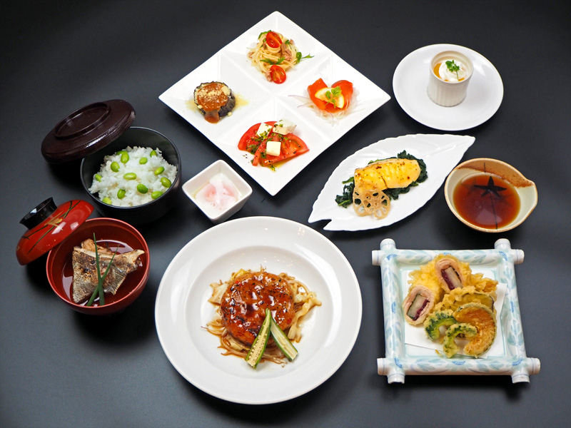 八代グランドホテルの夏の宴会プラン会席料理3000円