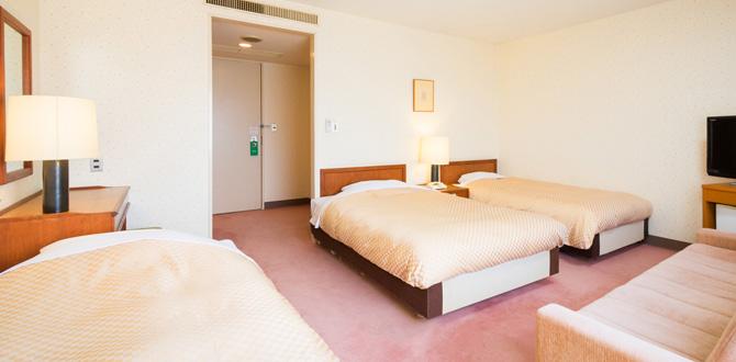 八代グランドホテルの客室「トリプルルーム」