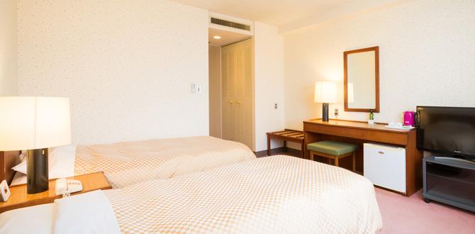 八代グランドホテルの客室「ツインルーム」